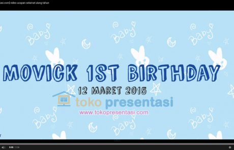 tokopresentasi.com-portfolio video ulang tahun jasa presentasi jasa desain presentasi desain video