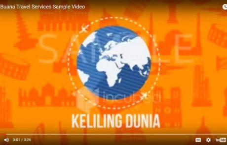 incubeastudio.com Video Explainer Bayu Buana Travel