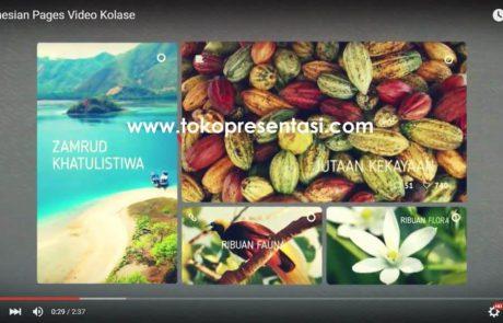 Tokopresentasi.com portfolio jasa video presentasi video kolase video slideshow foto slideshow jasa presentasi