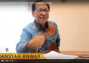 tokopresentasi.com testimoni Pak Johansyah Anwar jasa desain presentasi profesional