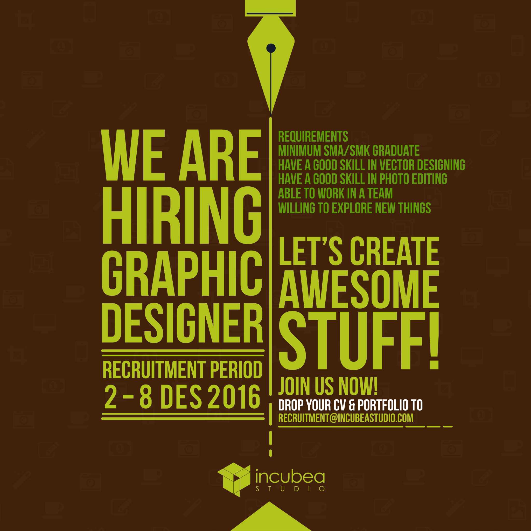 post recruitment designer jasa desain ppt desain powerpoint jasa desain presentasi