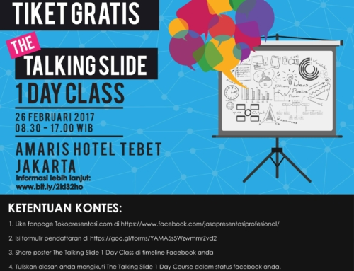 Kontes Tiket Gratis The Talking Slide 1 Day Class!