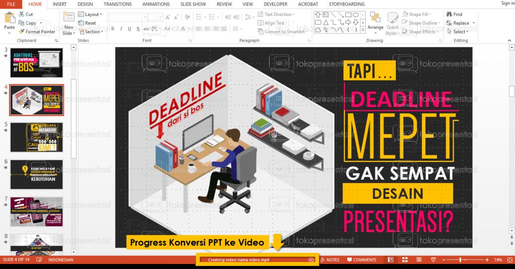 tokopresentasi.com tutorial konversi powerpoint ke video 6