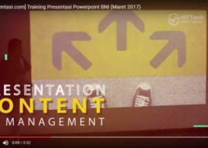 Tokopresentasi.com Training Presentasi Powerpoint Powerful Point BNI Maret training powerpoint sukses terbaik
