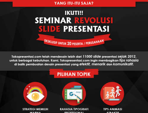 Promo Merdeka: Inhouse Seminar Revolusi Slide Presentasi