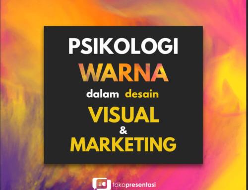 Psikologi tentang Warna dalam Desain Visual dan Marketing.