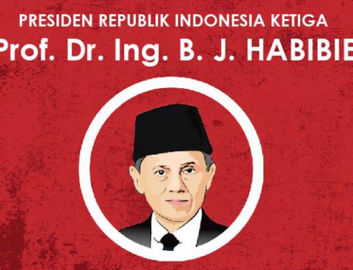 Infografis Presiden Ketiga RI : Prof. Dr. Ing. B. J. Habibie