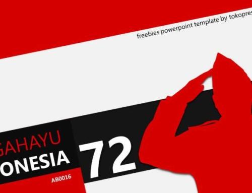 AB016 Template Powerpoint Gratis 17 Agustus Hari Kemerdekaan Indonesia