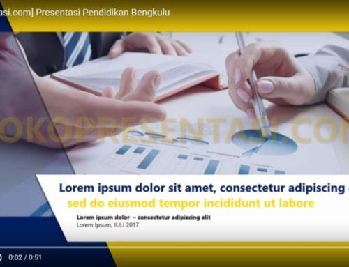 Presentasi Pendidikan / Edukasi
