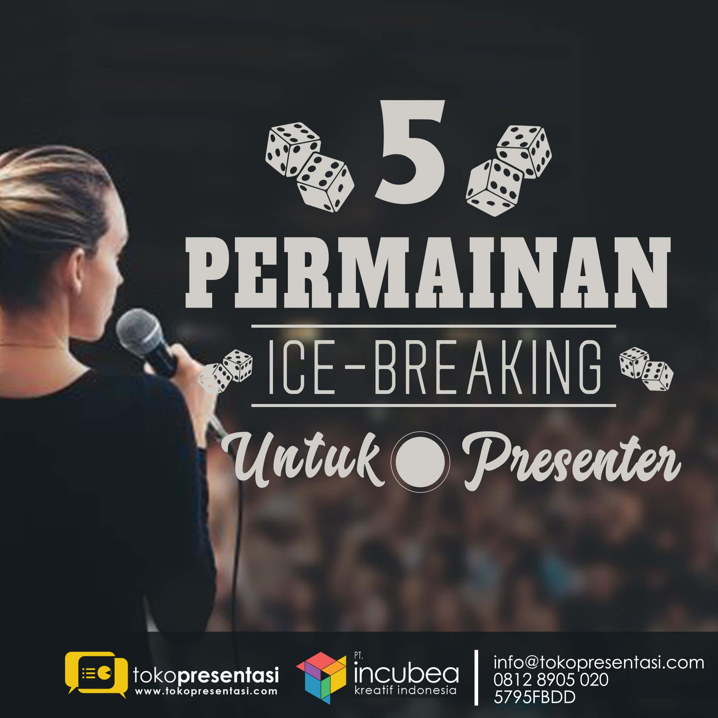 training presentasi 5 permainan ice breaking tokopresentasi