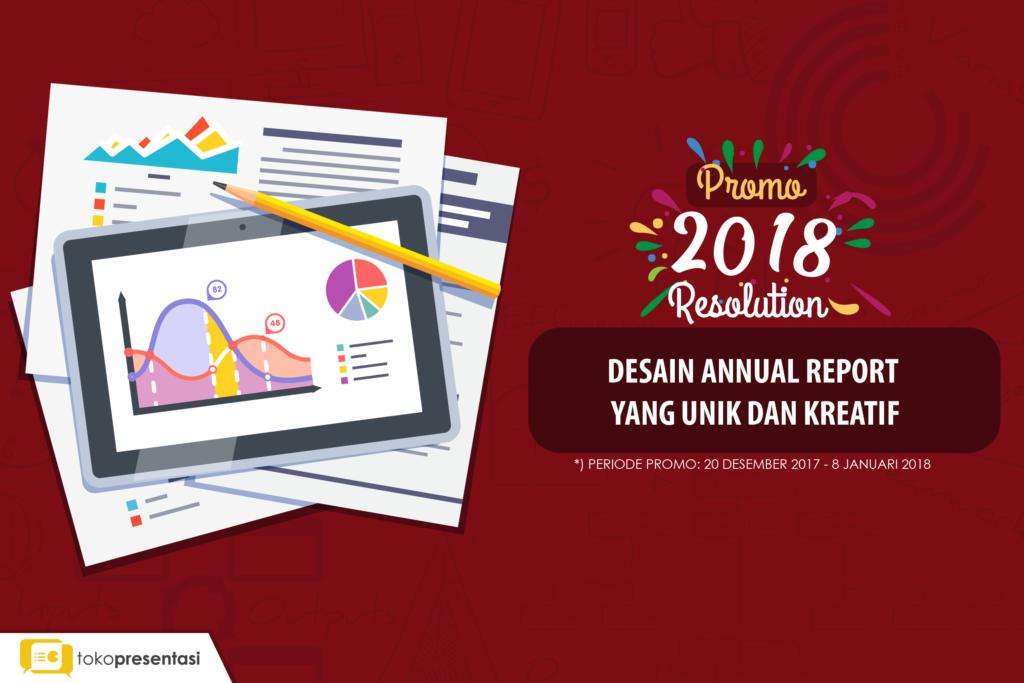 Promo Akhir Tahun Annual Report Tokopresentasi