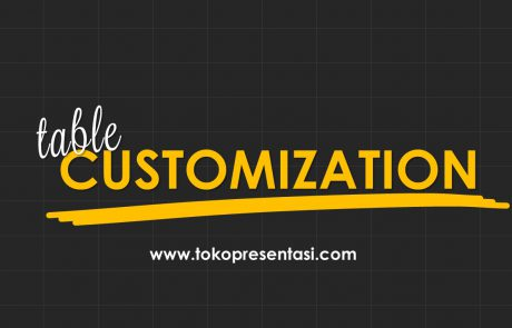 Table Customization Tabel Kreatif dan Unik Powerpoint Tokopresentasi