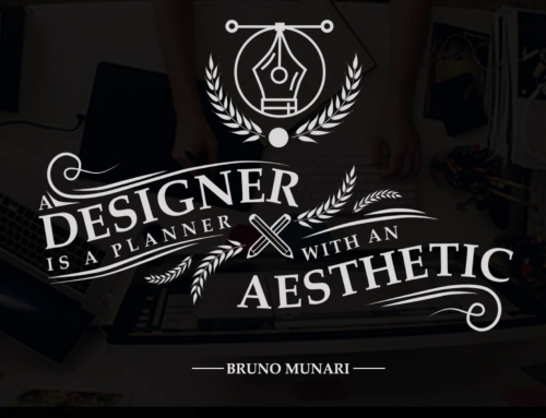 Designer is A Planner with An Aesthetic