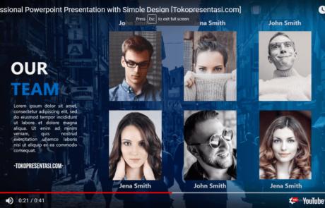 Simple Presentation Design Tokopresentasi