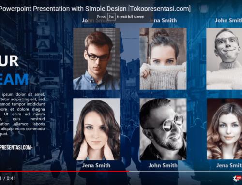 Simple Presentation Design