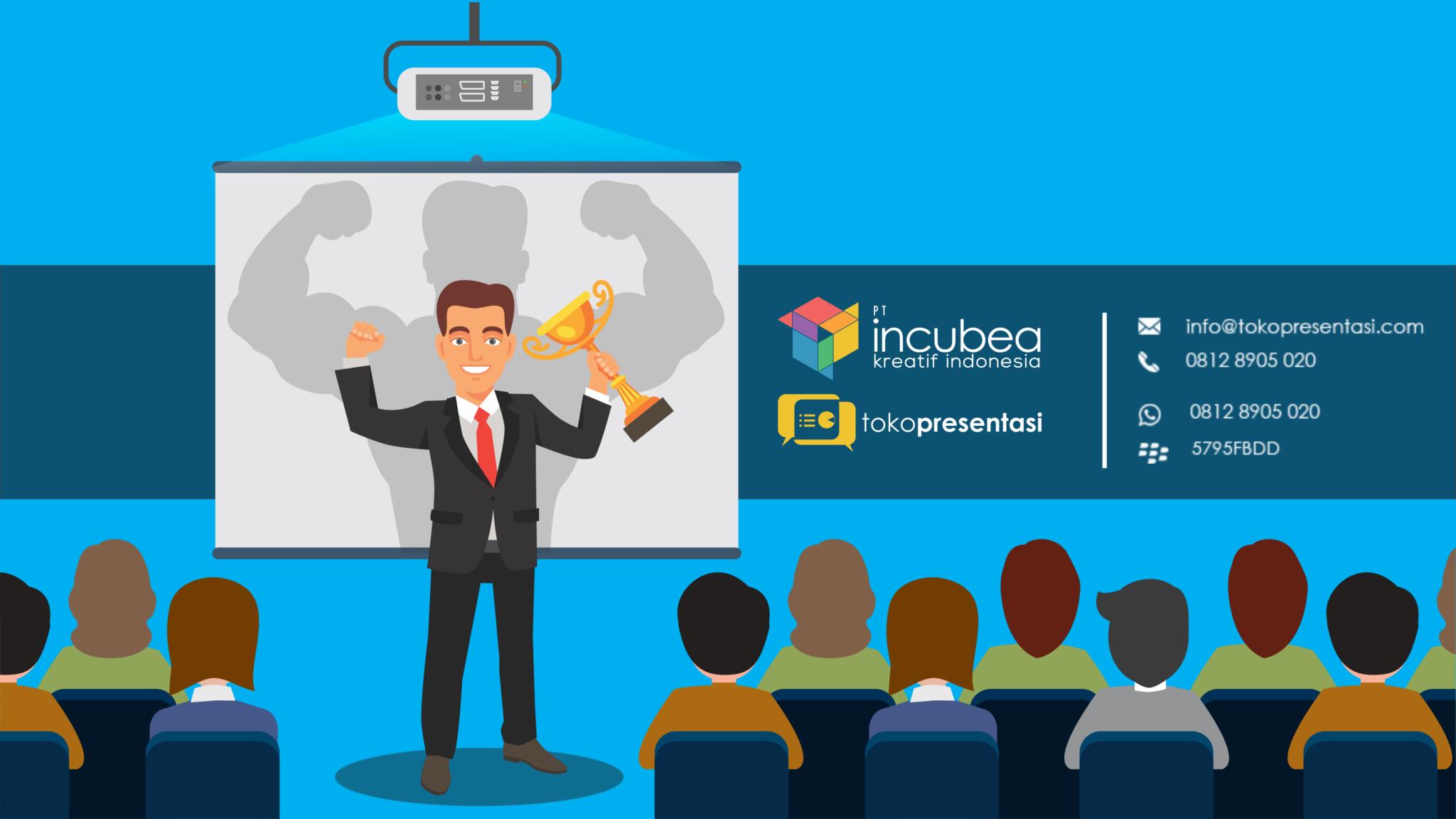 Strategi Membuat Presentasi yang Powerful - Tokopresentasi