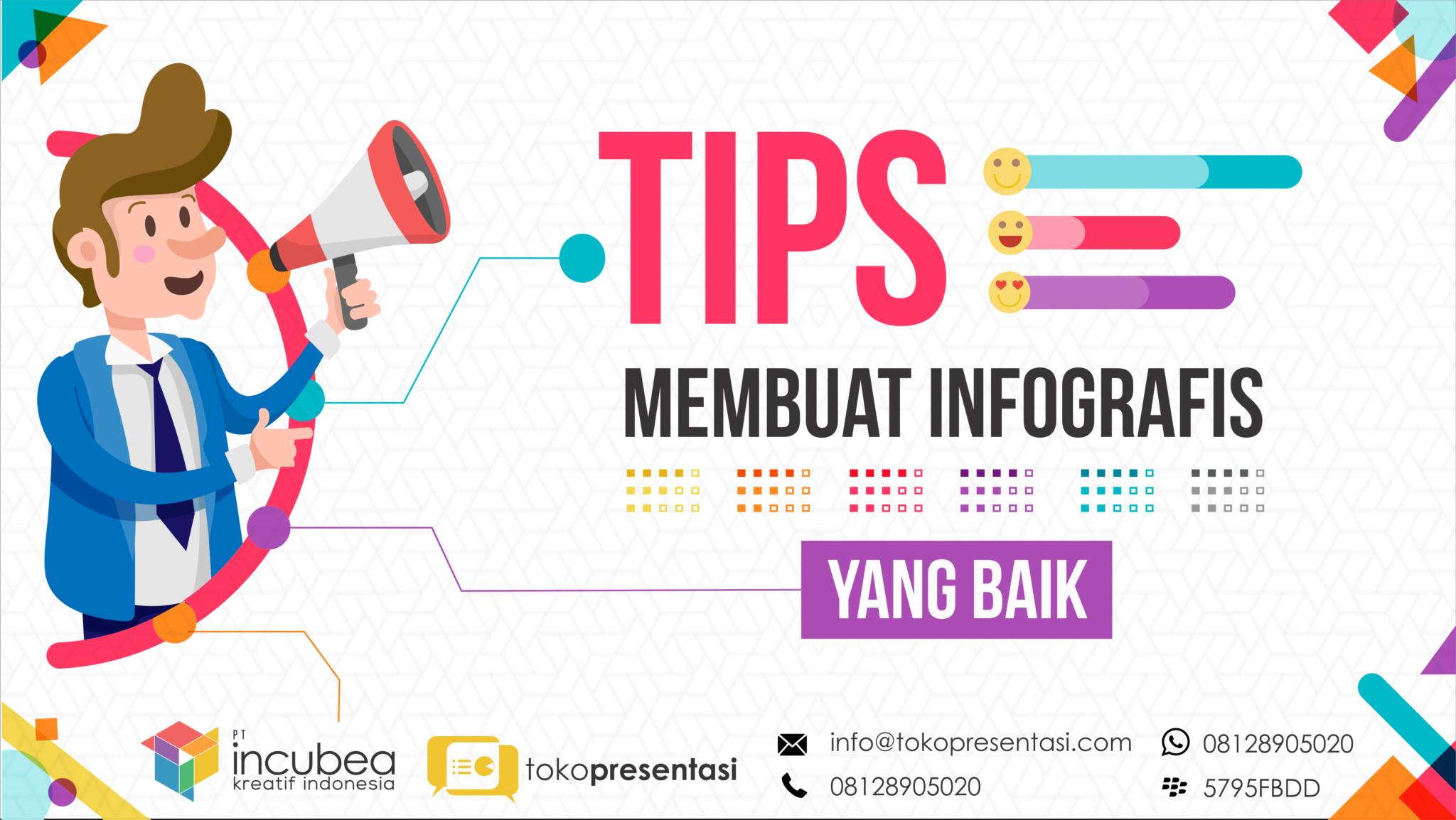 Tips Membuat Infografis yang Baik - Tokopresentasi