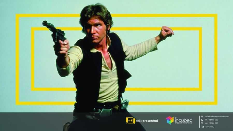 4 Hal yang Dapat Dipelajari dari Han Solo Bagi Presenter - Tokopresentasi