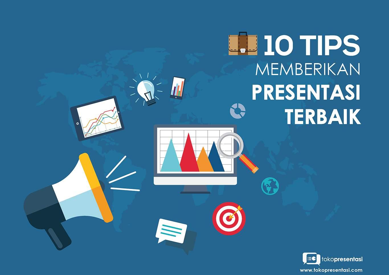 Toko Presentasi - 10 Tips Presentasi Terbaik  Jasa