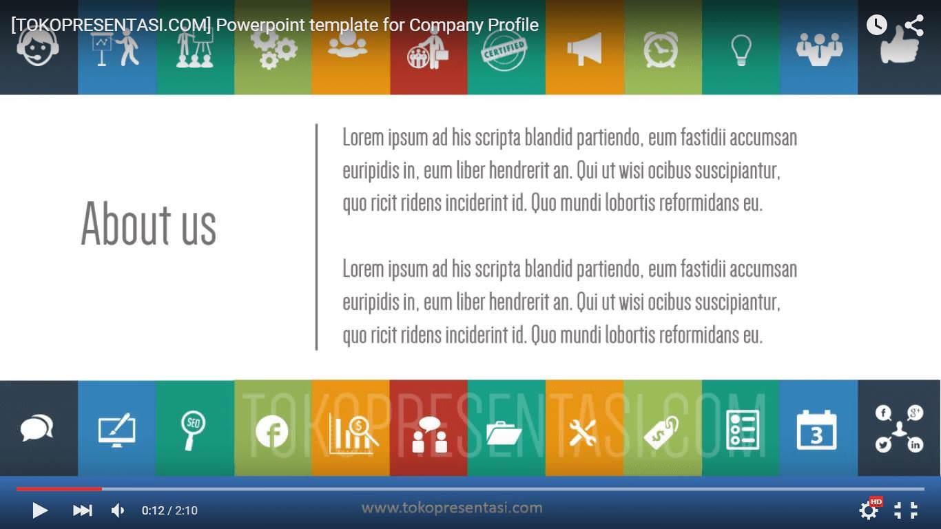 jasa desain presentasi company profile video animasi powerpoint portfolio presentasi tokopresentasi.com