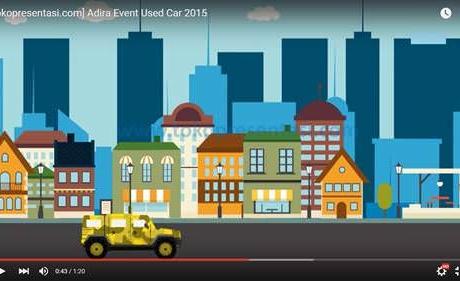 Jasa desain presentasi powerpoint ppt event organizer adira finance