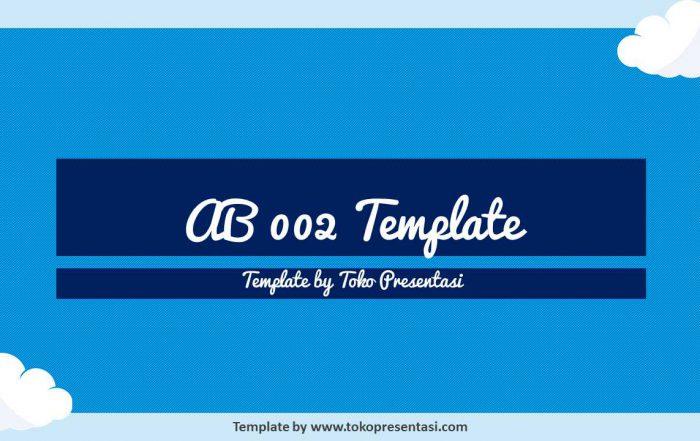post template powerpoint animasi jasa ppt desain presentasi free template cloud