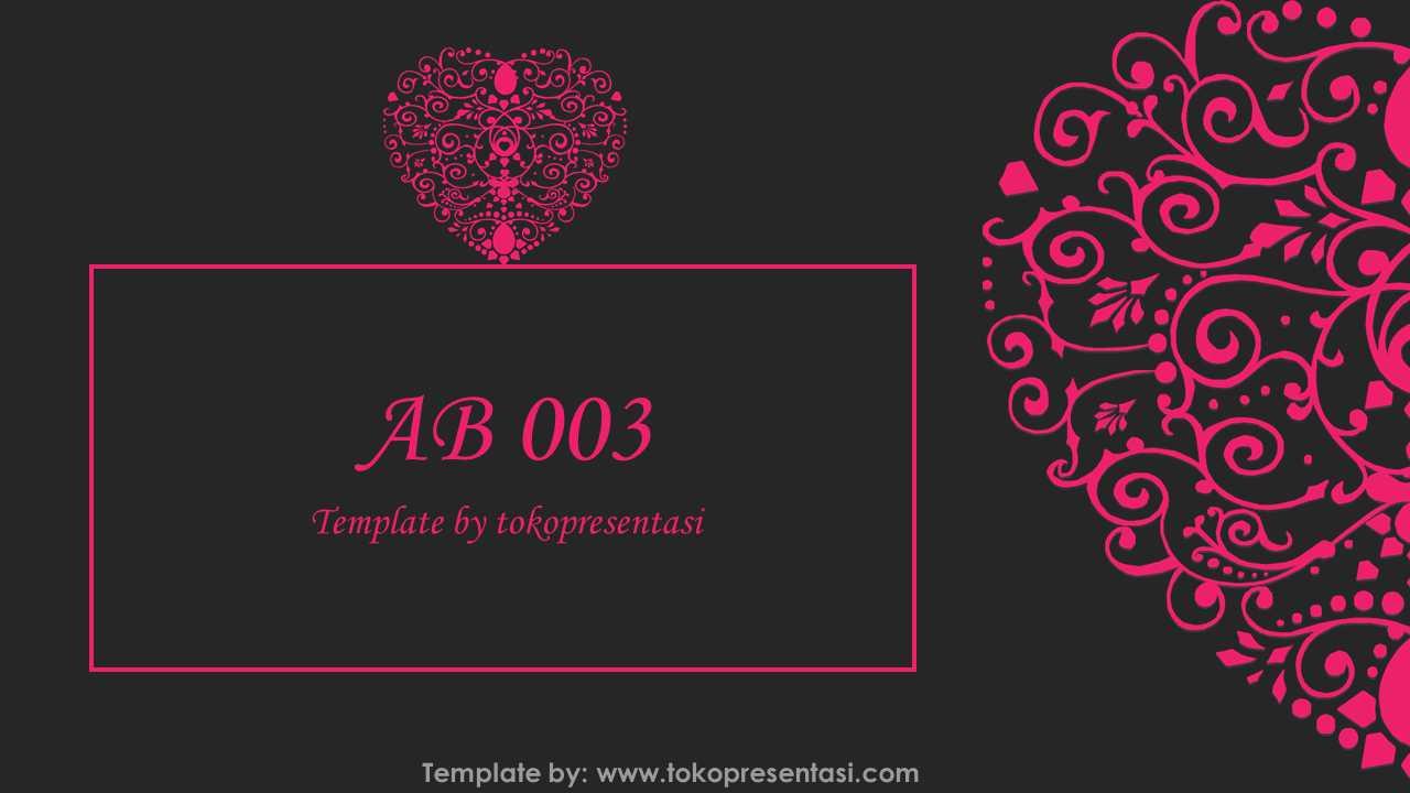 post template powerpoint animasi jasa ppt desain presentasi free template love