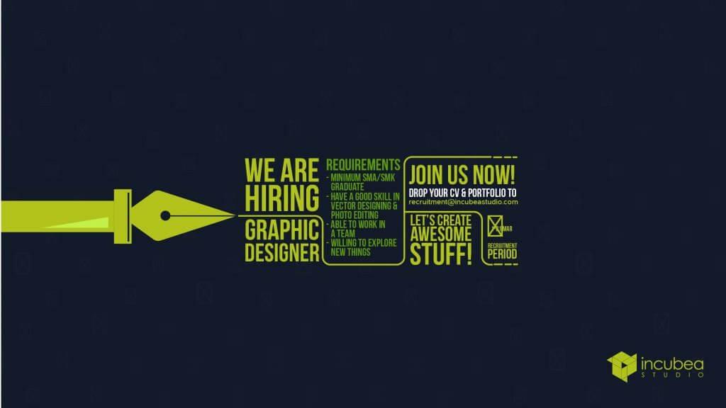 post recruitment designer jasa desain ppt desain powerpoint