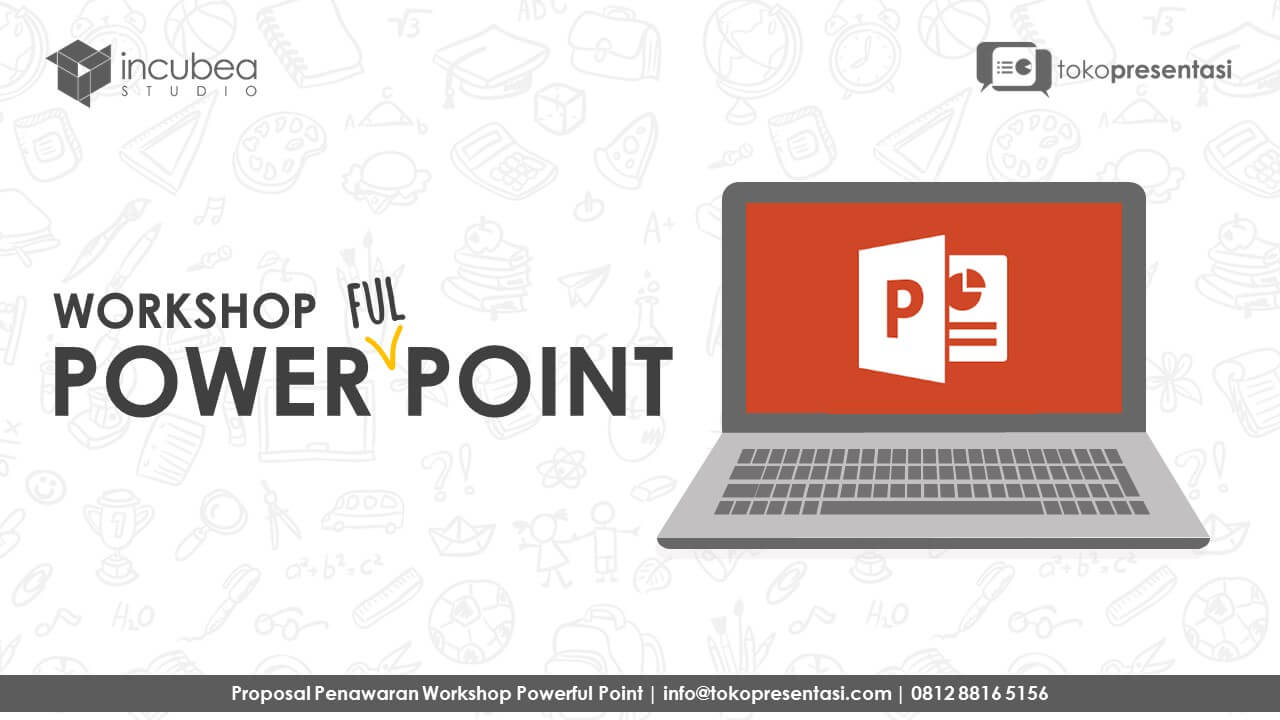 post workshop powerfulpoint jasa ppt jasa desain presentasi desain powerpoint level basic