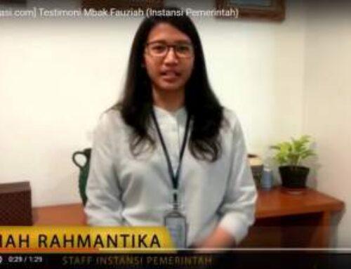 Testimoni tokopresentasi.com dari Mbak Fauziah (Instansi Pemerintahan)