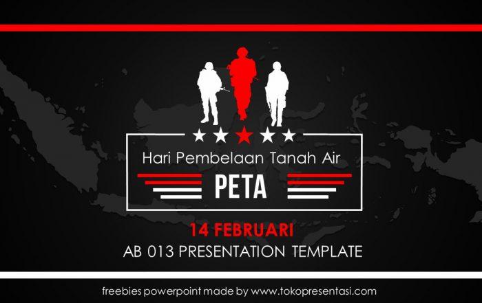 post template powerpoint animasi jasa ppt desain presentasi free template hari PETA