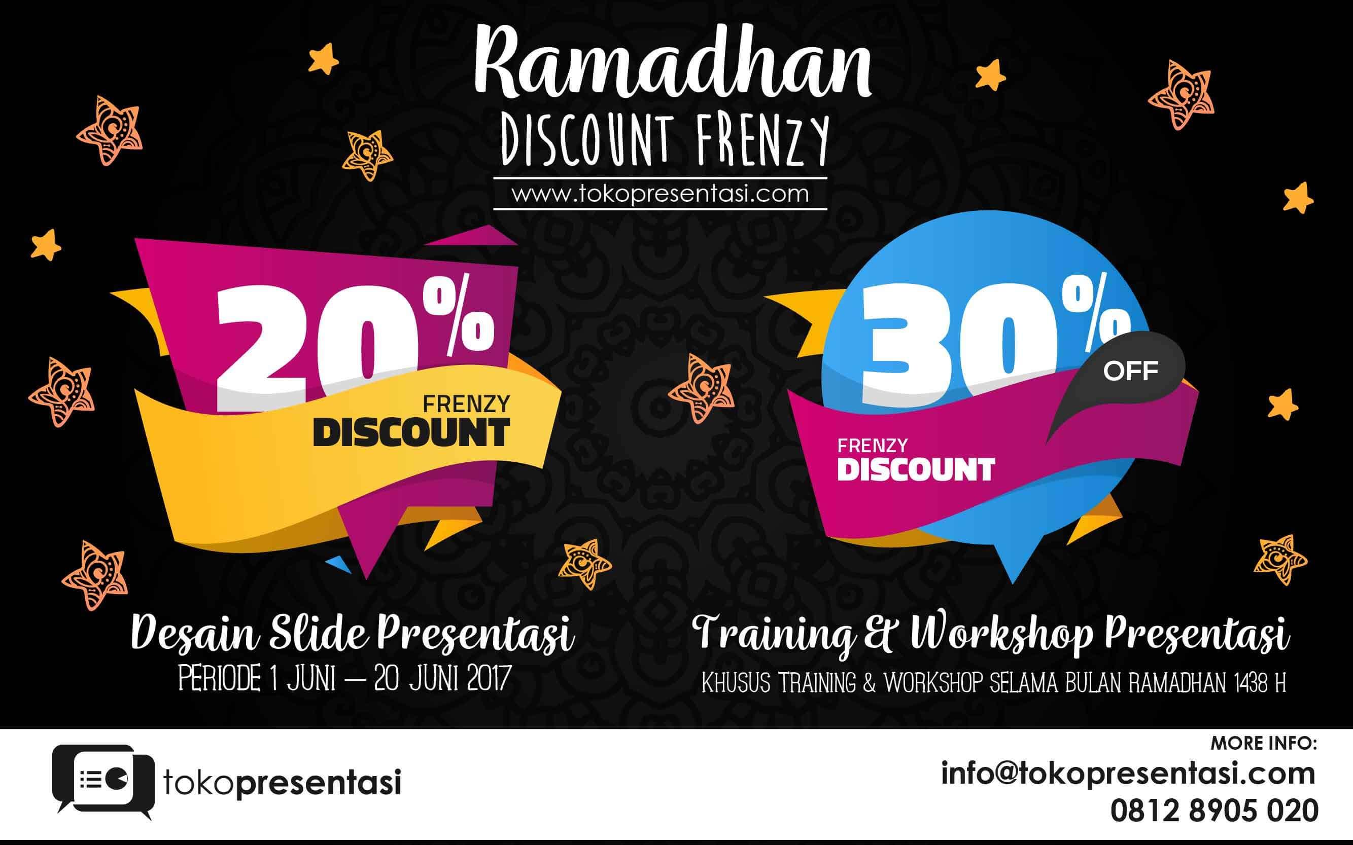 jasa presentasi tokopresentasi.com ramadhan discount frenzy