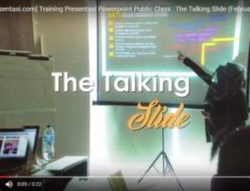 Dokumentasi Training Presentasi The Talking Slide Februari 2017