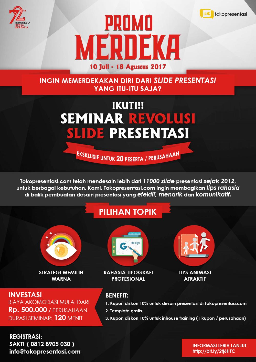Tokopresentasi.com promo training presentasi tips presentasi jasa presentasi jasa desain slide presentasi jasa ppt