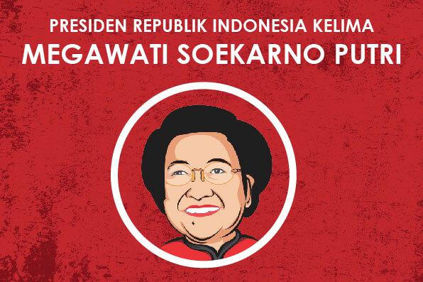 Cover Infografis Presiden RI kelima Megawati Soekarno Putri jasa infografis tokopresentasi-01-05