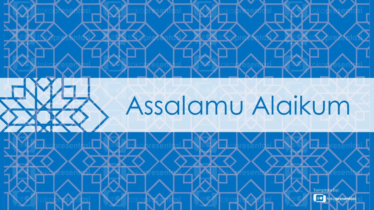 Slide As-salamu alaykum gratis