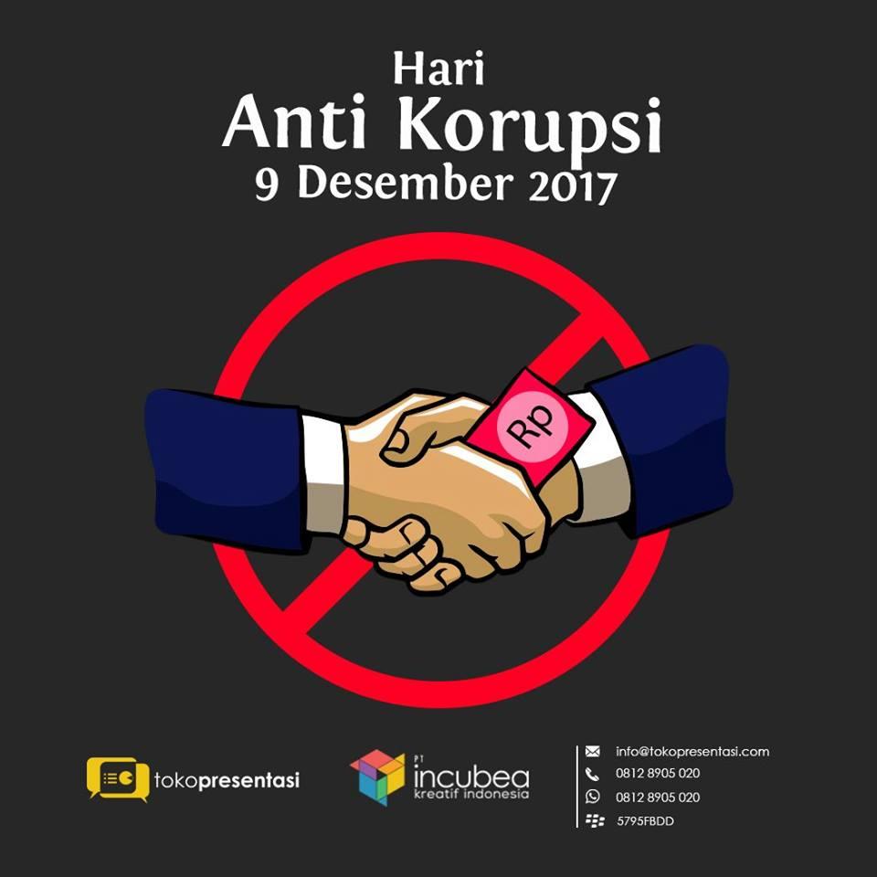 Hari Anti Korupsi Tokopresentasi