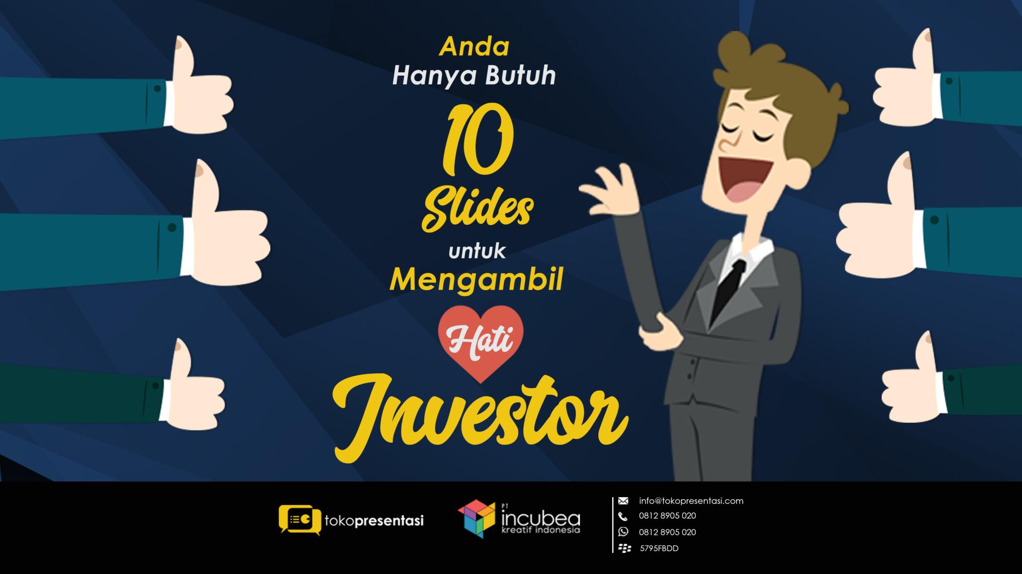 tips presentasi di depan investor