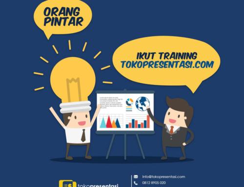 Orang Pintar Ikut Training Tokopresentasi.com