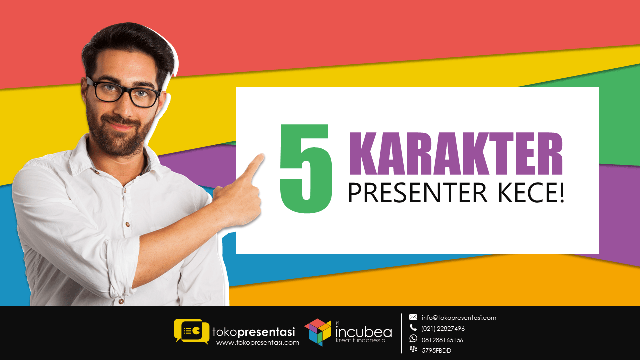 tips presentasi 5 karakter presenter kece
