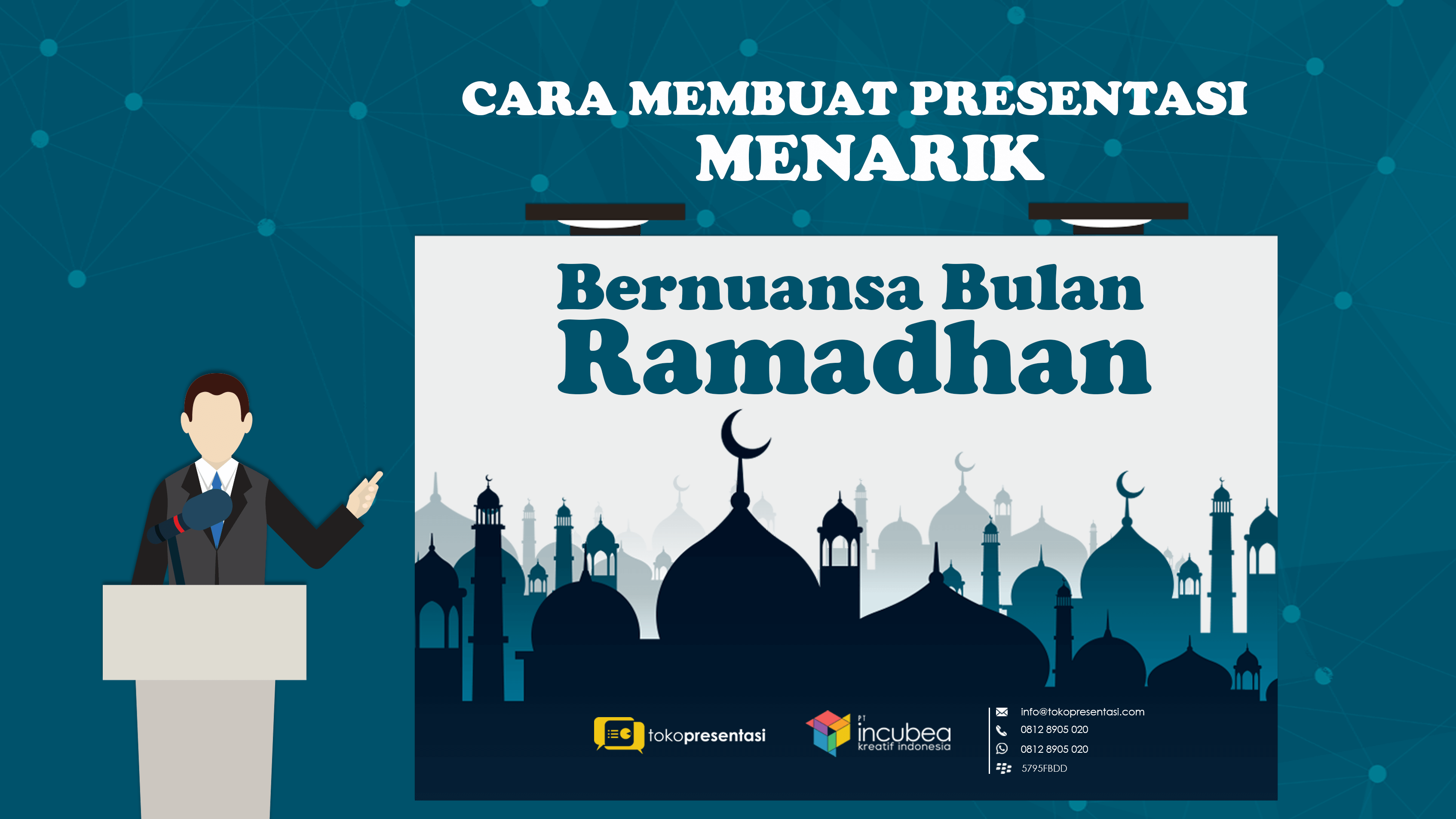 tips membuat presentasi menarik bernuansa bulan ramadhan - tokopresentasi
