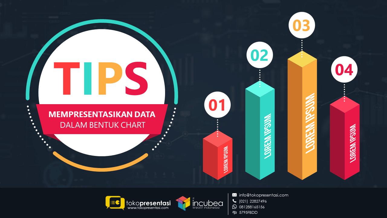 tips mempresentasikan data dalam bentuk chart - tokopresentasi