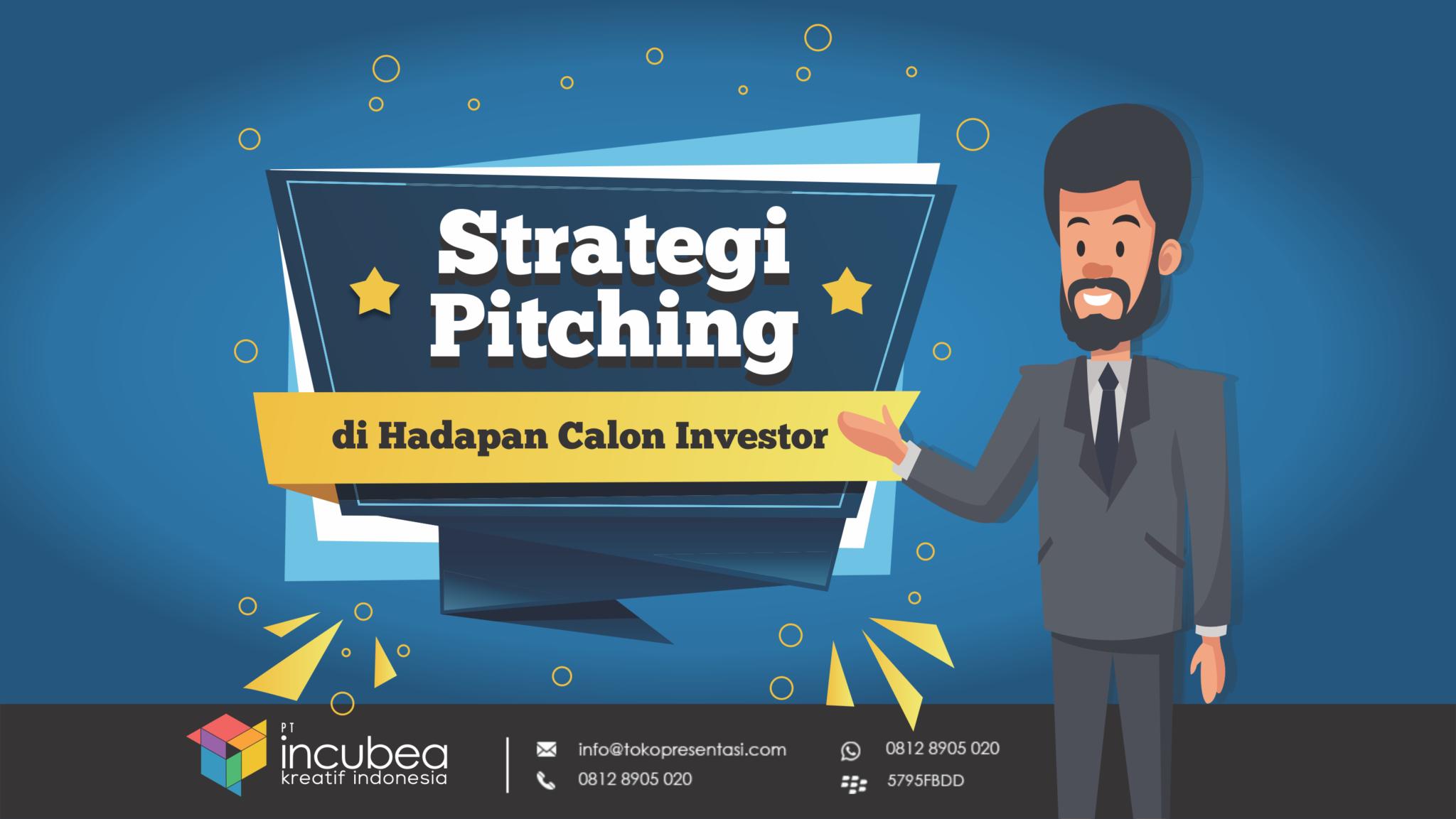 tips presentasi pitching di hadapan calon investor - tokopresentasi