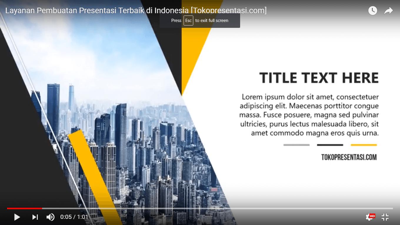 Layanan desain presentasi profesional indonesia tokopresentasi