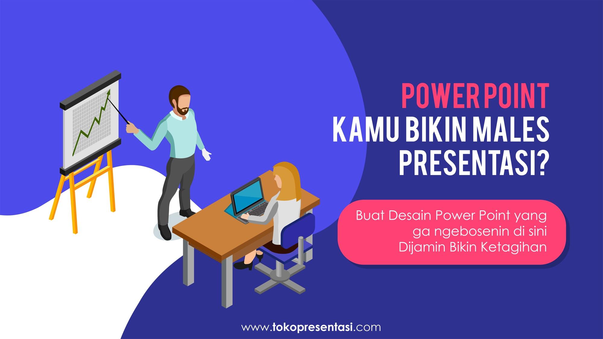 Jasa Pembuatan Desain Presentasi Powerpoint Lomba Inovasi GKM WKM TKMPN Polymeditra Indonesia Tokopresentasi