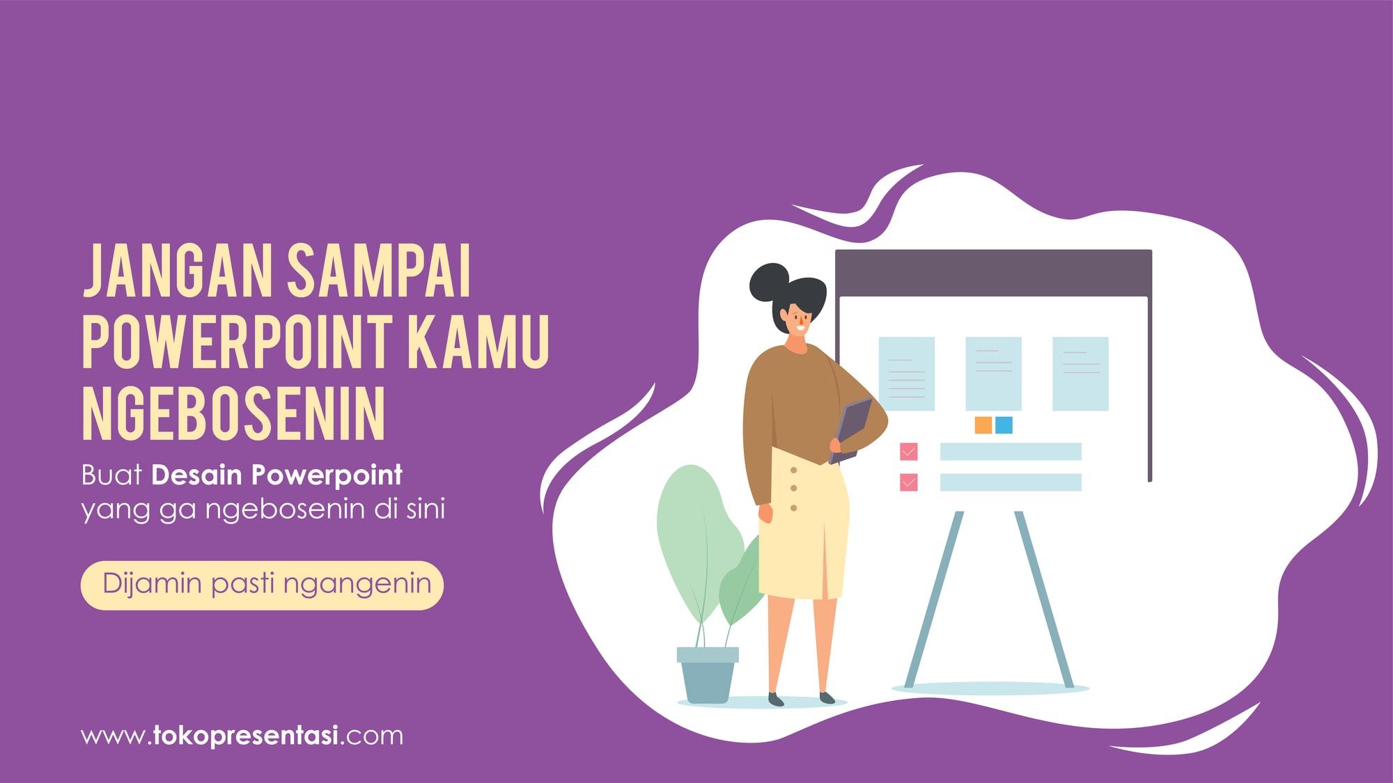 Jasa Pembuatan Desain Presentasi Powerpoint Lomba Inovasi GKM WKM TKMPN Pos Indonesia Tokopresentasi