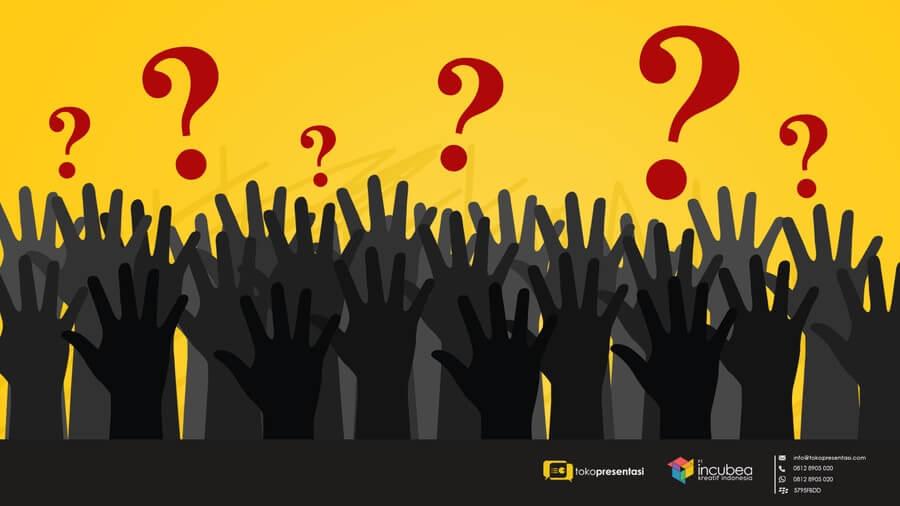 Tips Jitu Agar Audiens Tidak Banyak Bertanya Saat Presentasi - Tokopresentasi