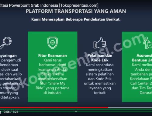 Desain Presentasi Powerpoint Grab Indonesia