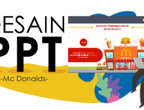 Desain Presentasi Powerpoint Restoran Fast Food Mc Donald