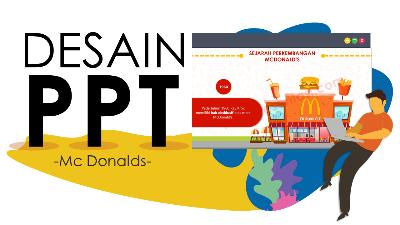 Jasa Desain Slide Presentasi Mc Donalds Tokopresentasi